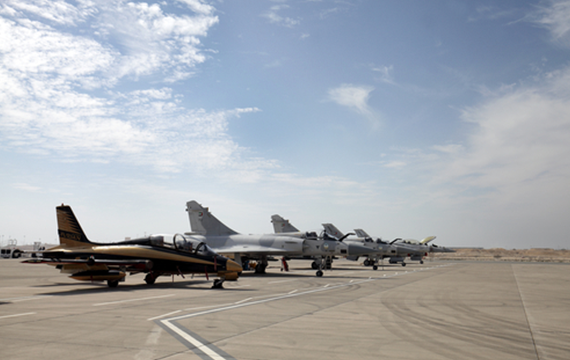 Bahrain chose ESISPOWER power supply units for their air force fighters.