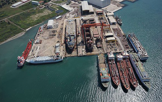 ESIS POWER Frequency Converters energize Yardem Shipyard