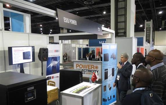 We were in Johannesburg / SOUTH AFRICA as Exhibitor in POWER & ELECTRICITY WORLD AFRICA on 27-28 March 2018